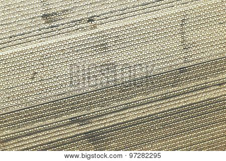 Black And White Corrugated Paperboard