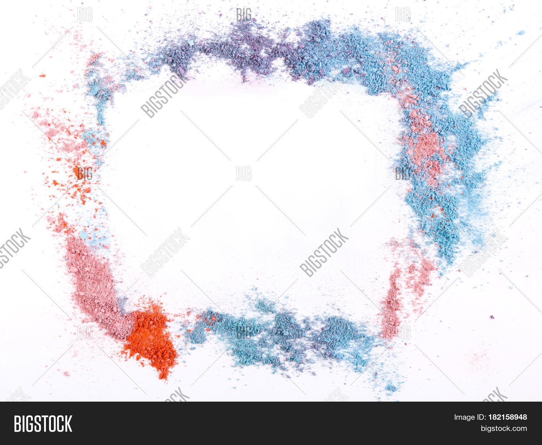 Makeup Eyeshadow Blush Image Photo Free Trial Bigstock