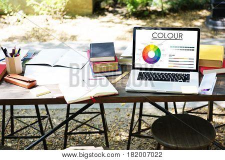 Color Wheel Primary Colors Brilliance