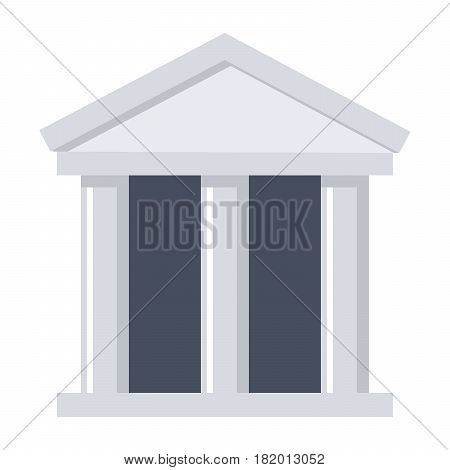 Scientific organization, vector illustration in flat style