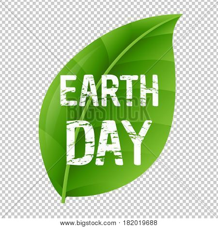 Earth Day Leaf And Transparent Background