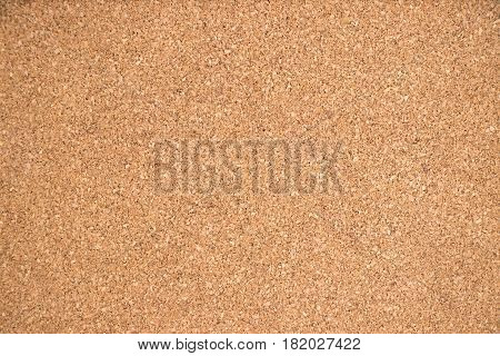 Closed up of brown cork board texture background