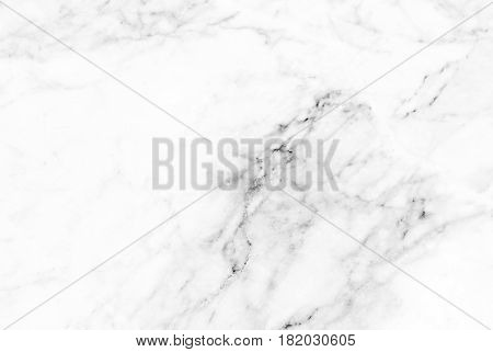 White marble texture with natural pattern for background or design art work, Detailed of real genuine marble from nature, Can be used for creating a marble surface effect to your designs or images.