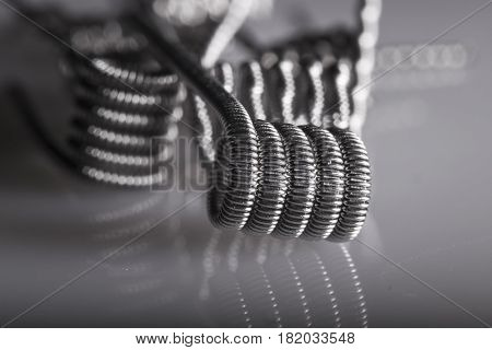 Twisted Multi Strand Vaping Coils Example.