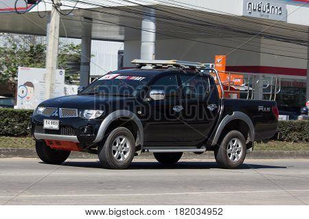 Private Car, Mitsubishi  Pickup Truck.