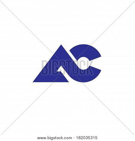 modern and elegant AC letter logo vector, letter AC bold logo concept