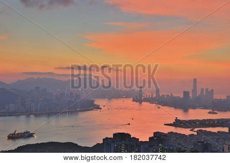 Black Hill View Of Hong Kong
