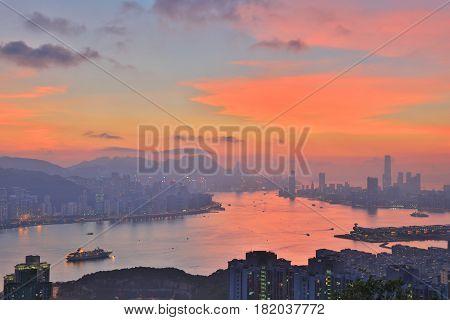 Lam Tin View Of Hong Kong 2016