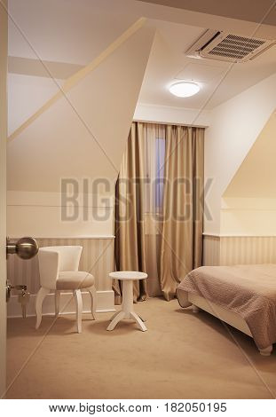 Small Hotel Room Interior