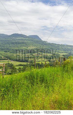 Farm Morro Do Gaucho Mountain Landscape