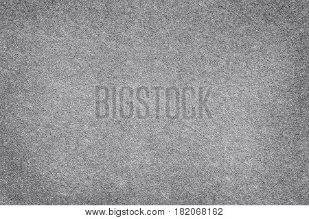 Gray felt surface close up. Abstract texture and background