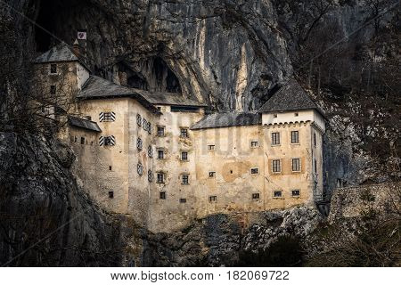 Predjama Castle is a Renaissance castle built within a cave mouth in south-central Slovenia in the historical region of Inner Carniola