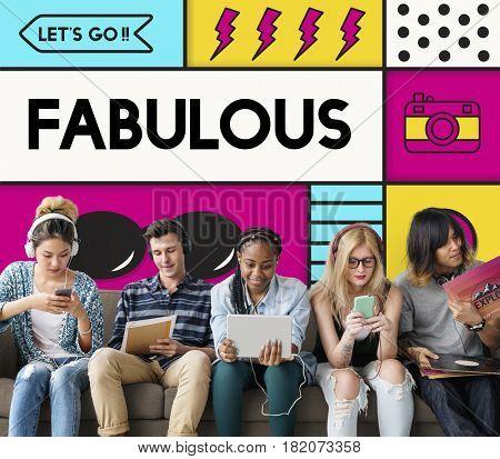 Fabulous Satisfaction Inspire Creative Positive