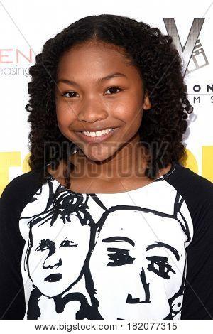 LOS ANGELES - APR 13:  Laya DeLeon Hayes at the