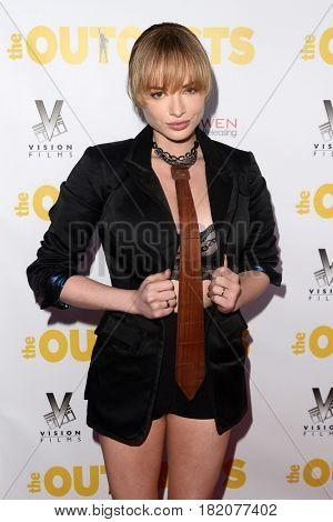 LOS ANGELES - APR 13:  Ashley Rickards at the