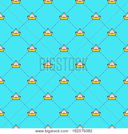 Spring and summer boys and girls outdoor recreation wrapping paper. Endless vector texture for wallpaper, wrapping paper, background, surface texture, pattern fill