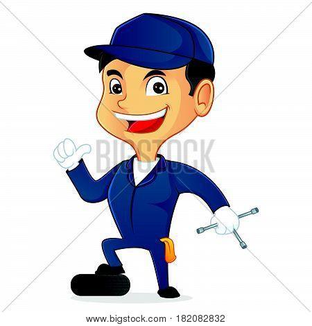 Mechanic Holding Tool