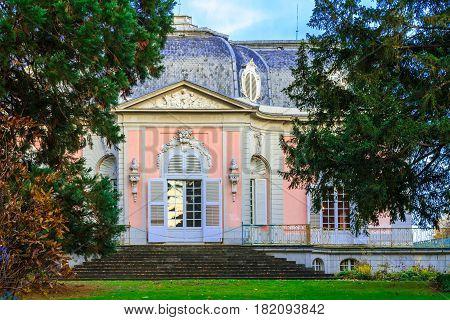 Dusseldorf North Rhine-Westphalia Germany - October 30 2016 Castle Benrath