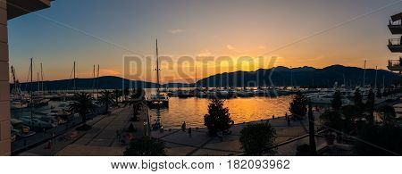 Elite marina for super yachts in Montenegro - Porto Montenegro in Tivat. The best marina of the world 2015-2016