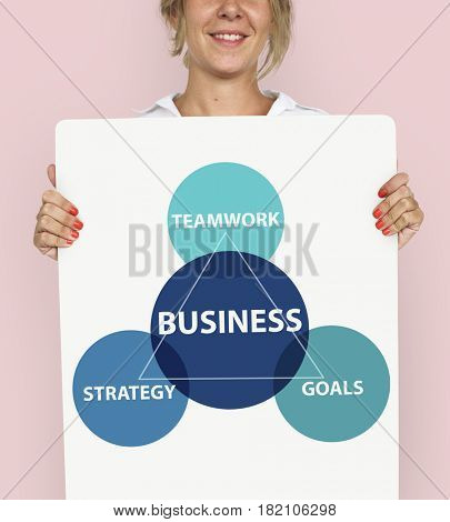 Business Circular Diagram Strategy Icon