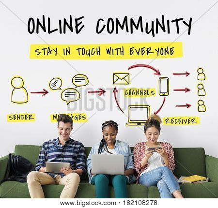 Online Community Stay Connected