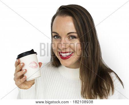 Studio Shoot Portrait Woman Valentine