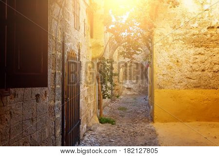 Rhodes old town is oldest inhabited medieval town in Europe. Rhodes Island