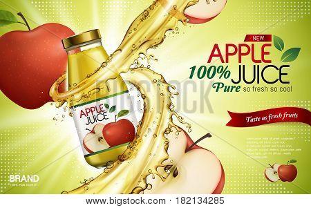 Apple Juice Ad