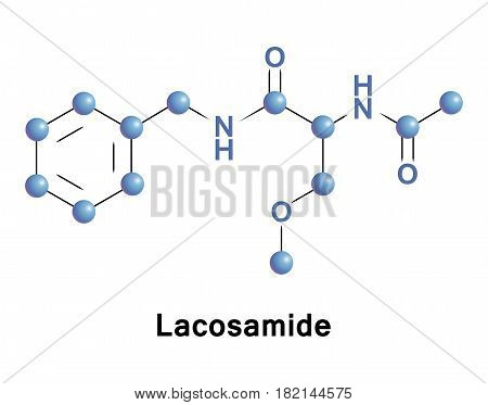 Lacosamide is a medication for the adjunctive treatment of partial-onset seizures and diabetic neuropathic pain
