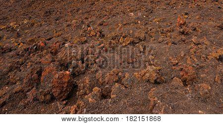 Lifeless land ecological disaster background image .