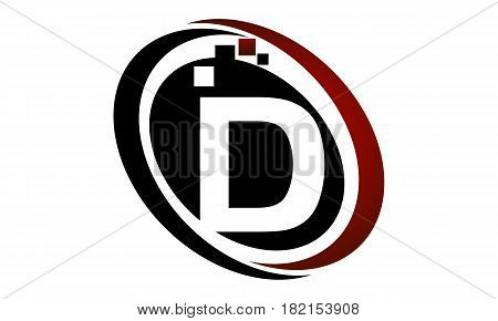 This vector describe about Technology Logo Motion Synergy Initial D
