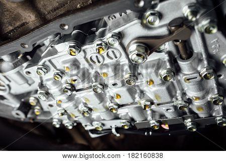 CVT automatic transmission, bottom view
