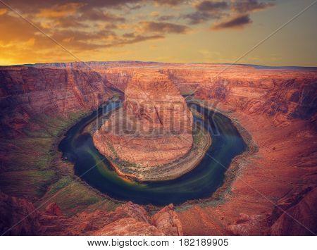 Famous Horseshoe Bend