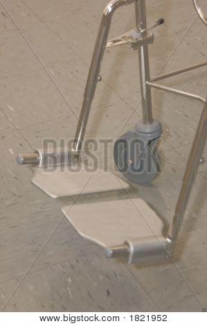Shower/Toilet Chair Footplates