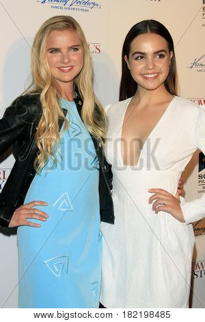 LOS ANGELES - APR 13:  Chappell Bunch, Bailee Madison at the