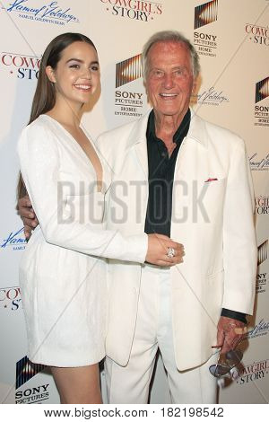 LOS ANGELES - APR 13:  Bailee Madison, Pat Boone at the