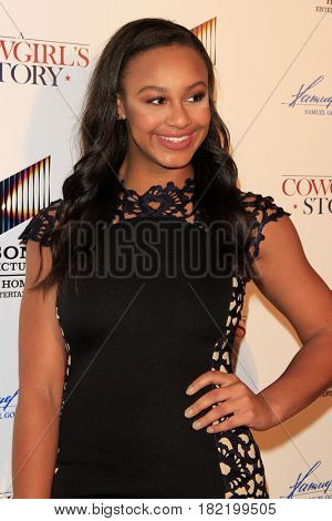 LOS ANGELES - APR 13:  Nia Sioux at the