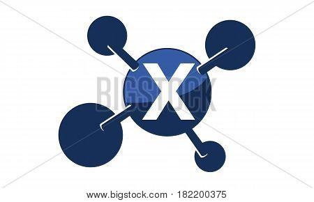 Synergy Logo Solution Group Connection Initial X