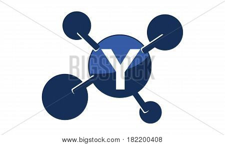 Synergy Logo Solution Group Connection Initial Y