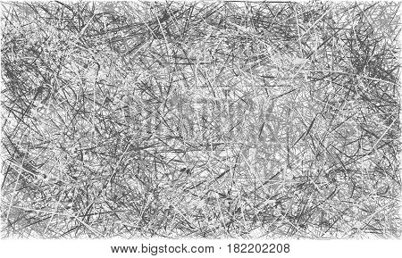 Grey And Blue Abstract Scratched Grunge Background