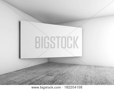 Banner Mounted In The Corner, Architecture Design