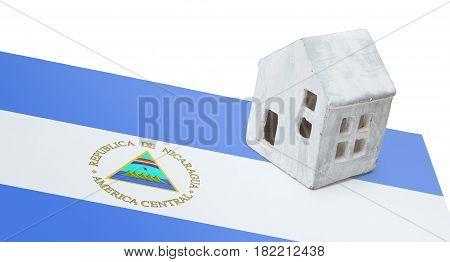 Small House On A Flag - Nicaragua