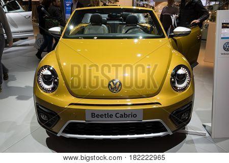 Volkswagen Beetle Cabrio Car