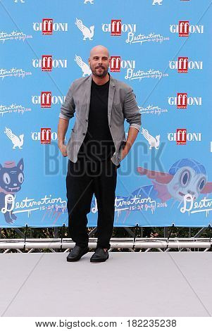 Giffoni Valle Piana Sa Italy - July 17 2016 : Marco D'Amore at Giffoni Film Festival 2016 - on July 17 2016 in Giffoni Valle Piana Italy