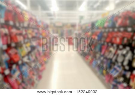 blurred photo, Blurry image, Shoe department, background