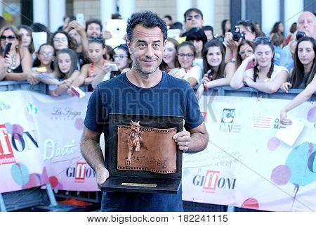 Giffoni Valle Piana Sa Italy - July 20 2016 : Matteo Garrone at Giffoni Film Festival 2016 - on July 20 2016 in Giffoni Valle Piana Italy