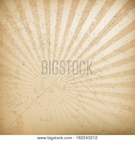 Retro vintage background pastel grunge striped backdrop vector illustration