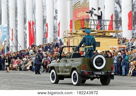 Parade On An Annual Victory Day (wwii)