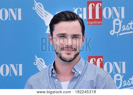 Giffoni Valle Piana Sa Italy - July 22 2016 : Nicholas Hoult at Giffoni Film Festival 2016 - on July 22 2016 in Giffoni Valle Piana Italy