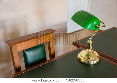 Green Reading Lamp